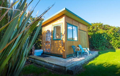The Cheeky Weka Cabin